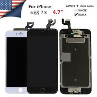 "LCD Display Screen Digitizer Assembly Replacement For iPhone 6s 6 7 8 4.7"" LOT"