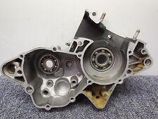 1987 Yamaha YZ125 Left side engine motor crankcase crank case 87 YZ 125