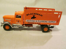 Golden Wheel Blackman Pyramid Heating & Plumbing Supply Delivery Truck #0126-2