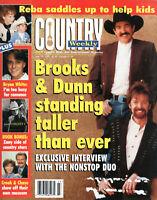 Country Weekly Magazine June 10 1997 Brooks & Dunn Bryan White Kathy Mattea