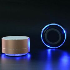 Rechargeable LED Mini Speakers Bluetooth Wireless Smartphones Tablet Super Bass