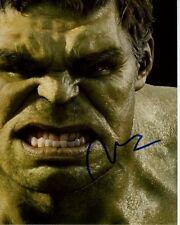 MARK RUFFALO Signed Autographed AVENGERS BRUCE BANNER HULK Photo