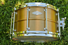 1 of only 25 Made!!! 2013 CRAVIOTTO AK Masters Brass SPL 14X8 SNARE DRUM! #D450