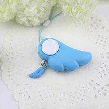 Electronic Personal Safety Angel Loud Personal Alarm Anti-Wolf Keychain - Blue
