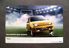 [GCG] L320- Advertising Pubblicità -1998-  FIAT SEICENTO , LA PASSIONE CI GUIDA
