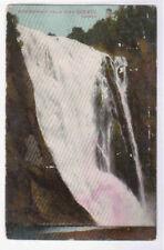 Montmorency Falls Quebec Canada 1912 postcard
