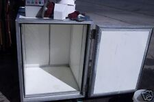 SODA MACH. ETC CABINET, ON CASTERS, FULLY INSULATED, CASTERS 900 ITEMS ON E BAY