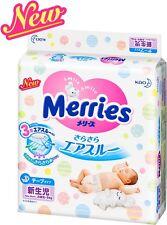Kao  Merries Diapers Air Through Tape Newborn Infants 90sheets ---5kg JAPAN