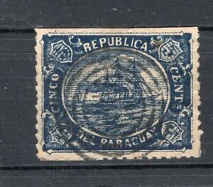 PARAGUAY 1870, NOT ISSUE, SHIP, NICE