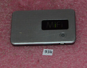 Novatel Wireless MIFI2200 Wi-Fi Intelligent 3G Mobile Hotspot Modem.