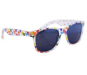NWT Disney Parks 2021 Colorful Mickey Balloon Icons Clear Adult Sunglasses