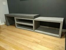 Industrial Concrete Entertainment Unit, TV Stand
