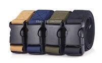 49 In Quick Release Belt Buckle Clips Sliders Tactical Straps Webbing Adjustable