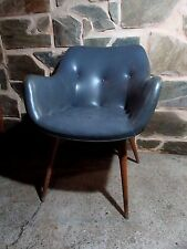 ORIGINAL 1950s GRANT FEATHERSTON ARMCHAIR LOUNGE TV CONTOUR CARVER CHAIR