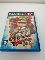 Playstation 2 ps2 games BUZZ The Music Quiz Complete With Manual FAST FREE P&P