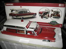 1/18 GREENLIGHT PRECISION COLLECTION 1966 CADILLAC AMBULANCE LTD EDITION AWESOME