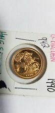1990 Gold Great Britain Proof Half-Sovereign.