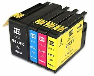 932xl 933xl Ink cartridgs for HP Officejet 6100 6600 6700 7110 7610 7612