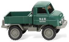 """Wiking 037107 UNIMOG U 411"""" W&W construcción de la madera"""" 1:87 (H0)"""