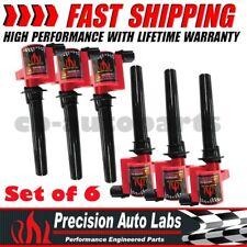 6x Premium Ignition Coil DG500 DG513 C1458 FD502 For FORD MAZDA MERCURY 3.0L V6
