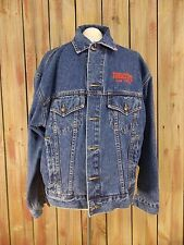 Boomtown Denim Jean Trucker Jacket Casino Hotel Rv Resort Las Vegas Men's Size L