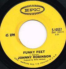 JOHNNY ROBINSON funky feet U.S. EPIC 45rpm 5-10557_orig 1969 FUNKY SOUL