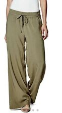 NWT GUESS Women ELSI PALAZZO PANTS Color Dmos Size:M