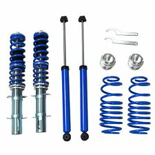 For 1999-2005 VW GOLF / GTI / JETTA / NEW BEETLE Street Coilover Kit Blue 99-05