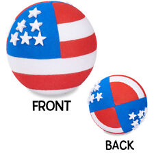 Coolballs® Patriotic American Flag (2 Sided) Car Antenna Topper / Antenna Ball
