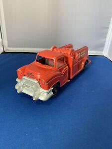 pressed metal ts municipal fire truck