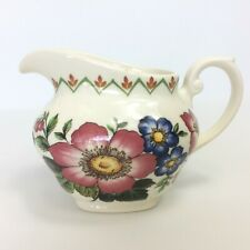 Myott Meakin England Small Jug Blenheim Dynasty Collection Anemone Floral