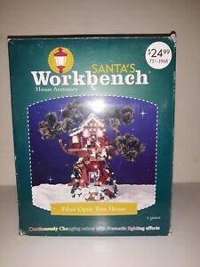2004 Santa's Workbench Fiber Optic Tree House