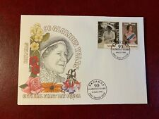 BAHAMAS 1990 FDC QUEEN MOTHER 90TH BIRTHDAY