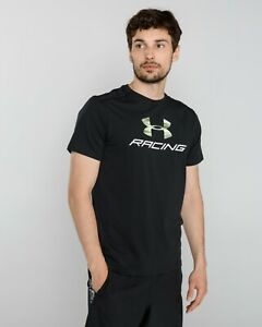 Under Armour UA Men's Racing Pack T-Shirt - XL- Black