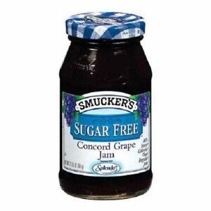 Smucker's Sugar Free Concord Grape Jam