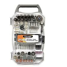 Chicago Power Tools 208-Piece Rotary Tool Accessory Set