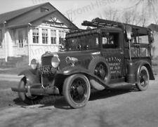 8x10  Print Defense Emergency Squad Truck Oceanport NJ 1941 #10100