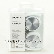 Sony ZX Series MDR-ZX310AP Foldable Headband Stereo Headset w/Mic (Whi