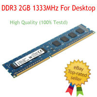 For Kingston 4GB PC3-10600 DDR3-1333MHz 240pin DIMM Desktop Memory RAM RHNUS Lot