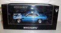 MINICHAMPS 1/43 - 400 123961 MASERATI KYALAMI 1982 - LIGHT BLUE METALLIC