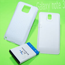 3IN1 Extended Battery TPU Case Cover for T-Mobile Samsung Galaxy Note 3 SM-N900T