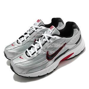 Nike Initiator Silver Black White Red Men Vintage Running Casual Shoe 394055-001