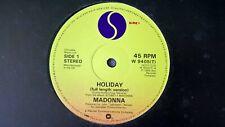 MADONNA - HOLIDAY .     12''Vinyl SP.