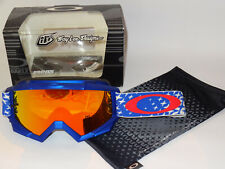 Oakley Proven MX Goggle TLD Signature Starburst red/white/blue fire iridium rare