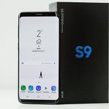 Samsung Galaxy S9 Black 64GB  SM-G960F Dual SIM Deutsche Ware NEU OVP Händler