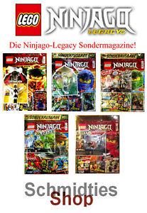 LEGO Ninjago Legacy Magazine (Sonderausgabe) Limitiert - Wählen sie ihre Ausgabe