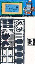 eduard Su-15TM Flagon-f Exterior Parti di acquaforte 1:48 per Modello Kit