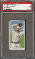 1909-11 T206 Harry Krause Pitching Piedmont 350 Phila PSA 3 VG