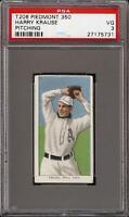 1909-11 T206 Harry Krause Pitching Piedmont 350 Phila PSA 3 VG