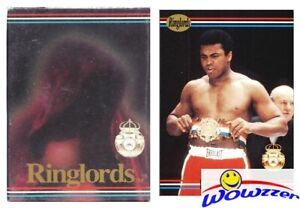 1991 Ringlords Boxing Factory Sealed 40 Card Set-MUHAMMAD ALI, Lewis,Holyfield+
